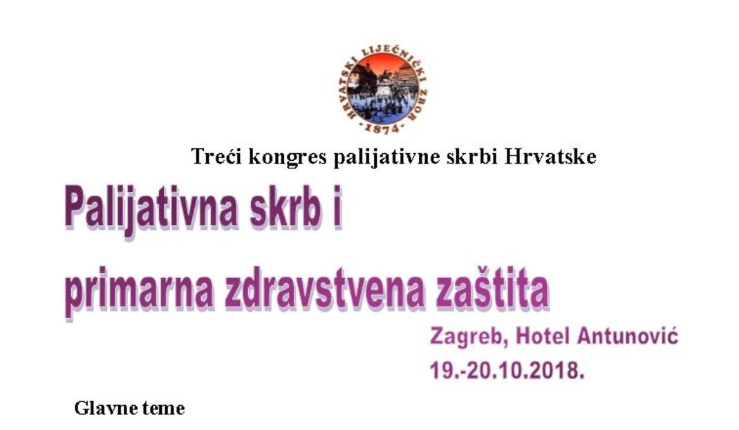 Treći kongrs palijatalna skrbi Hrvatske