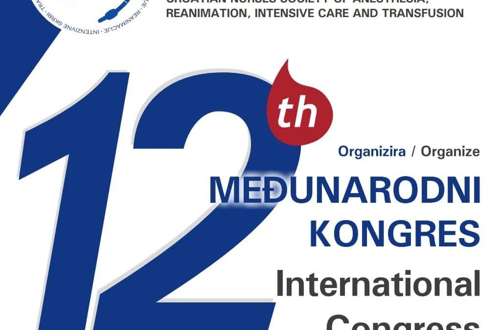 12. MEĐUNARODNI KONGRES HDMSARIST-a Šibenik, 11.-14. travnja 2019. godine